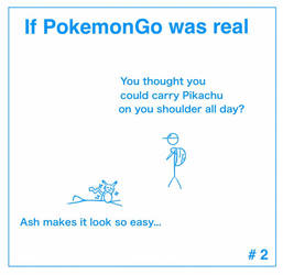 If PokemonGo was real #2 by LPHogan