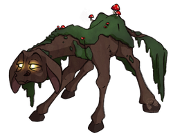 Swamp Donkey by DrawingJules