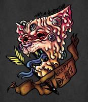 Tattooish Sphinx Meltdown by Vespertin0