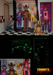 Five Nights at Freddy's Puppets by TommyGK
