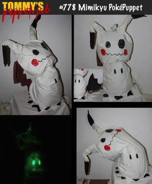 Mimikyu Totem Puppet (tutorial available) by TommyGK