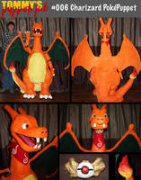 Charizard Puppet (tutorial available) by TommyGK