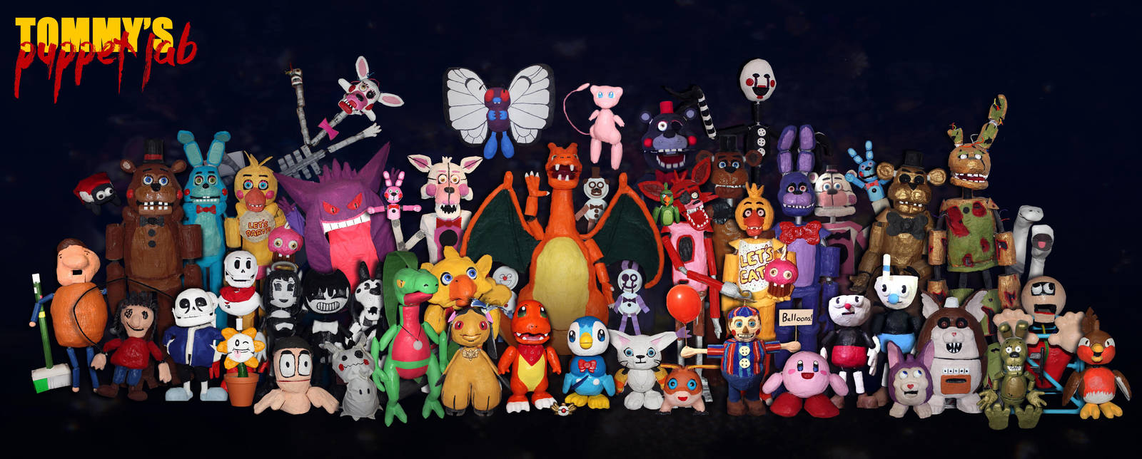 My Puppet Family (all hand crafted) by TommyGK