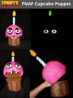 FNAF Cupcake Puppet by TommyGK