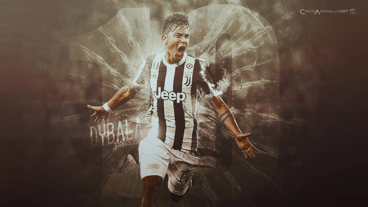 PAULO DYBALA - LA JOYA SOCCER ART Download PSD? by antonellocroceart