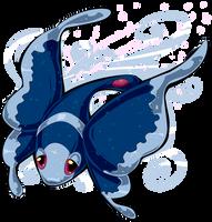 FanArt - Lumineon Pokemon by purplerubyred
