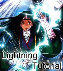 Cartoon Lightning Tutorial by purplerubyred