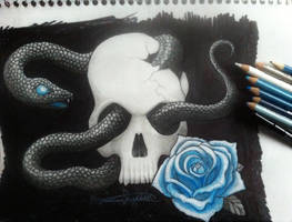 hint of blue by MinaLilith