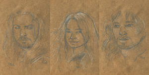 Eowyn and her men by Caravaggia