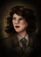 Peggy Carter by Caravaggia