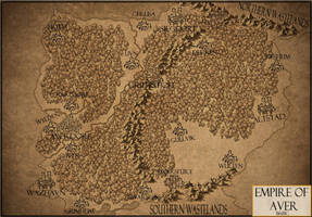 Empire of Aver New Map by trygveblacktiger