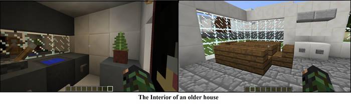 Minecraft house Interior by crazygirlfrommars