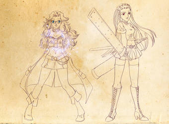 Damsels Rescuers 80's by MexiGojira