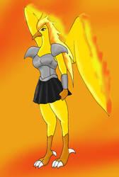 Aurelia 'Rita' Firefeather by Ninetalesuk