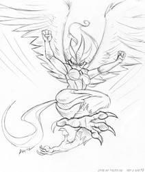 Aurora by KaeMantis by Ninetalesuk