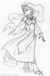 Gwen by KaeMantis by Ninetalesuk