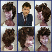 Doctor Who tenth wig by LeoFioreChu