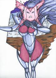 Psylocke Inferno series Pic 8 by Tazirai