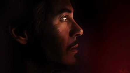 Tony Stark - Digi-paint by Lasse17