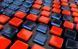 Colored plastic bricks by 3DWS