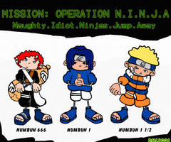 CODENAME: Ninjas Next Door by TVirusJunkie