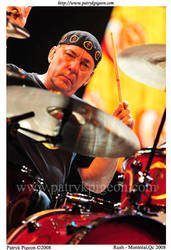 Neil Peart - Rush by MrSyn