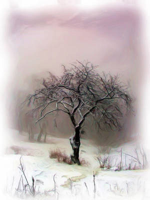 Winter Tree by gloriagypsy