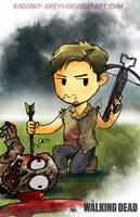 Walking Dead - Daryl by Radiant-Grey