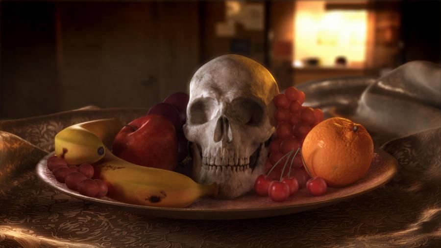 skull by sinbawii