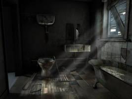 bathroom by sinbawii