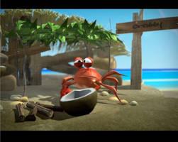 crabby. . coconut by sinbawii