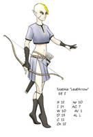 Tulathia AKA LeafArrow by warriorneedsfood