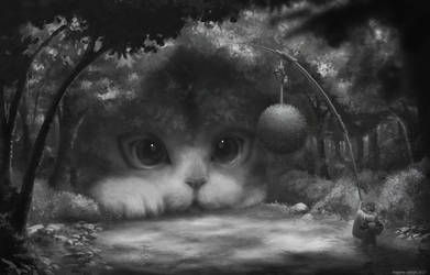 C'mon kitty.... WORK IN PROGRESS by schmax-44