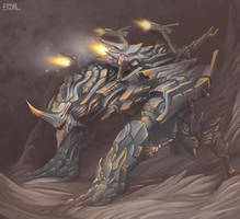 Siege Warmachine by Eriyal