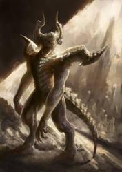 Demon Scout by Eriyal