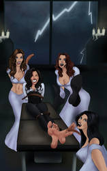 The Brides of Laughter by Bigfootfantasies