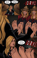 Ticklish Little Roosters Page 1 by Bigfootfantasies
