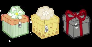 Adoptable Pony Boxes by CreatoreMagico