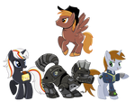 fallout pony type things by CreatoreMagico