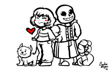 Undertale Group by CreatoreMagico