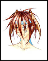 Kira: Headshot by CreatoreMagico