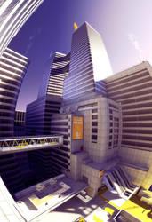 City Eye building by MichaWha