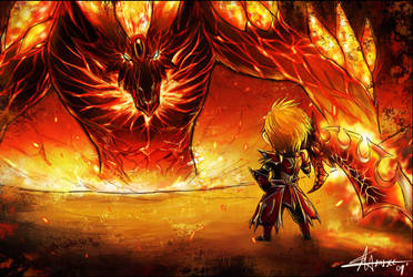 dragonica me and the dragon by Kai-E-soh