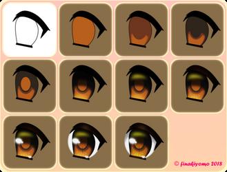 Anime Eye Tutorial Step-By-Step V2 by finakiyomo