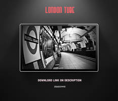London Tube Wallpaper by theminimalisto
