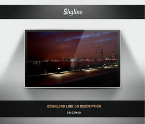 Skyline Wallpaper by theminimalisto