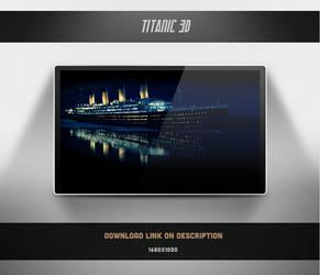 Titanic 3D Wallpaper by theminimalisto
