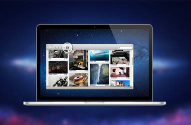 Mac OSX Mountain Lion Finder Concept by theminimalisto