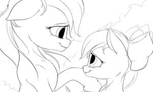 Hush now little sister by MrArdilla