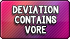 Button: Vore Warning by DoctorMLoli